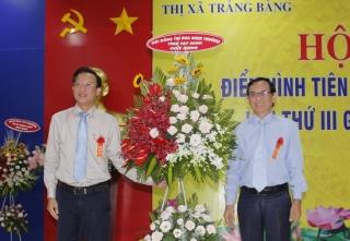 Thị xã Trảng Bàng: Hội nghị Điển hình tiên tiến lần thứ III giai đoạn 2015 - 2020