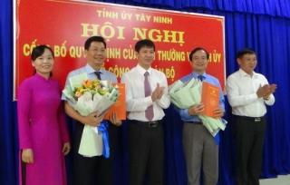 Giám đốc Sở VHTT&DL giữ chức vụ Bí thư Thành ủy Tây Ninh