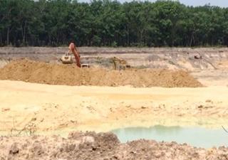 """Thông tin tiếp về bài báo """"Nóng"""" tình trạng khai thác khoáng sản trái phép"""