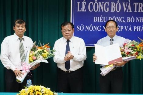 Trao quyết định bổ nhiệm Giám đốc Sở Văn hóa Thể thao & Du lịch và Sở Nông nghiệp & Phát triển nông thôn