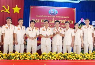 Công an huyện Dương Minh Châu tổ chức thành công Đại hội Đảng bộ lần thứ VII, nhiệm kỳ 2020-2025