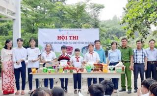 Xã Đôn Thuận: Tổ chức hoạt động tuyên truyền cho học sinh