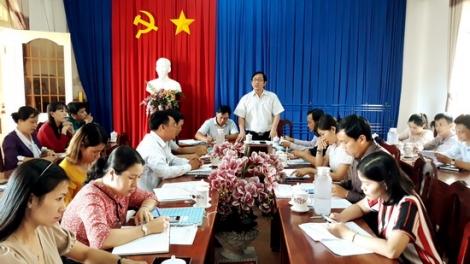TP.Tây Ninh: Kiểm tra tiến độ xây dựng xã nông thôn mới nâng cao tại Bình Minh
