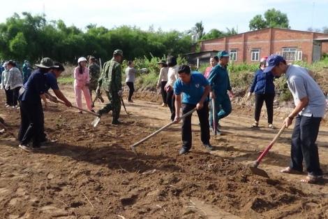 Xã Tân Bình sẵn sàng cho công tác dân vận đợt 1 năm 2020