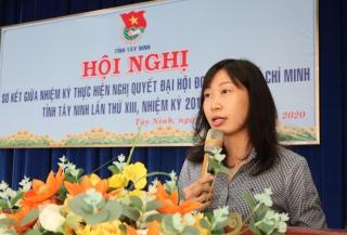 Sơ kết giữa nhiệm kỳ thực hiện Nghị quyết Đại hội Đoàn TNCS Hồ Chí Minh tỉnh Tây Ninh lần thứ XIII, nhiệm kỳ 2017–2022