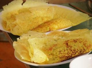 Đặc sản bánh xèo Vườn Quốc gia Lò Gò- Xa Mát