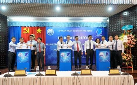 Chính thức vận hành Trung tâm điều hành thông minh IOC và Cổng thông tin du lịch Tây Ninh