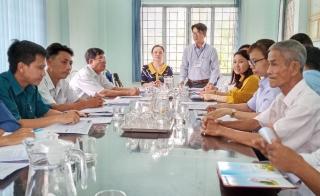 Mặt trận huyện Châu Thành giám sát chuyên đề đối với cán bộ, đảng viên nơi cư trú