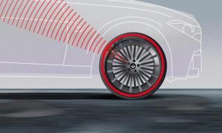 Lốp ôtô tự cảnh báo khi bị hư hỏng