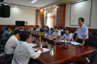Giám sát hoạt động 6 tháng đầu về VSATTP tại huyện Tân Châu