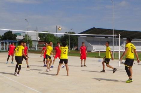 TP.Tây Ninh: Tổ chức Giải bóng chuyền chào mừng Đại hội Đảng bộ các cấp