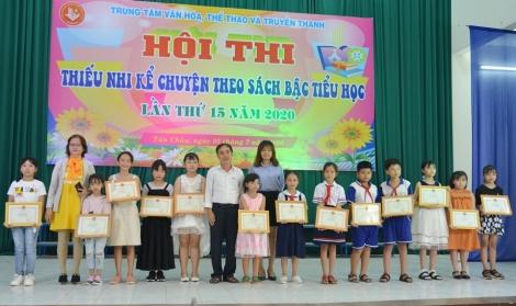Tân Châu: Tổ chức hội thi Kể chuyện theo sách bậc tiểu học