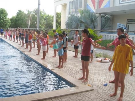 TP.Tây Ninh: Phát động Toàn dân tập luyện môn bơi phòng, chống đuối nước