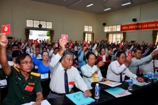 Hôm nay, khai mạc phiên trù bị Đại hội đại biểu Đảng bộ thành phố Tây Ninh, nhiệm kỳ 2020 – 2025