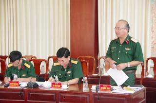 Đảng ủy Sư đoàn 5 sơ kết công tác 6 tháng đầu năm 2020