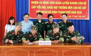 Thành phố Tây Ninh quán triệt nhiệm vụ động viên huấn luyện quân nhân dự bị