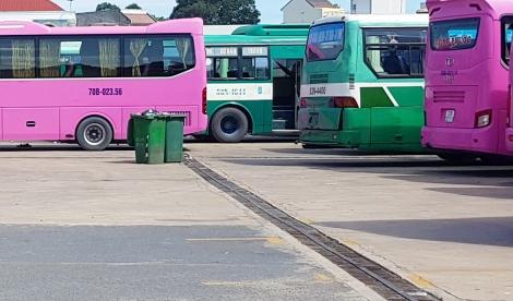 Bến xe khách Tây Ninh đã khắc phục tình trạng rác bừa bãi gây ô nhiễm môi trường
