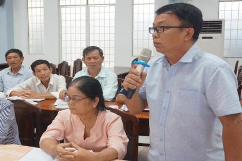 Huyện Dương Minh Châu: Giao ban Bí thư Chi bộ ấp, khu phố 6 tháng đầu năm 2020