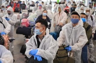 Gần 300 người Việt từ Nga về nước