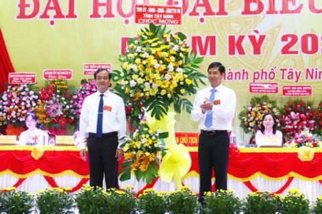 Khai mạc Đại hội đại biểu Đảng bộ thành phố Tây Ninh lần thứ XII