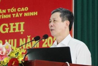 TAND tỉnh: Tổ chức Hội nghị tập huấn nghiệp vụ năm 2020