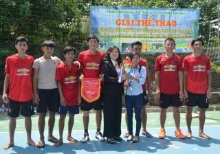 Tân Châu: Tổ chức giải bóng chuyền chào mừng đại hội Đảng bộ huyện