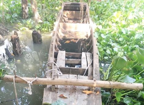 Tình trạng khai thác thuỷ sản tận diệt trên sông Vàm Cỏ Đông vẫn tiếp diễn