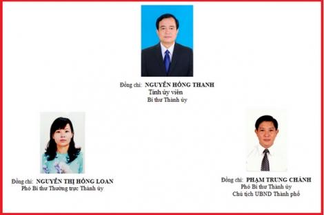Ông Nguyễn Hồng Thanh tái đắc cử Bí thư Thành uỷ Tây Ninh