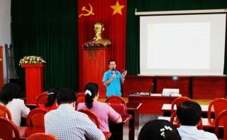 Công đoàn ngành y tế tập huấn nghiệp vụ cho cán bộ cơ sở