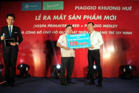Công ty TNHH Khương Huê: Ra mắt sản phẩm mới và ủng hộ Quỹ phát triển tài năng trẻ Tây Ninh
