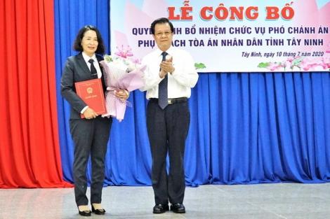Bổ nhiệm Phó Chánh án phụ trách Tòa án nhân dân tỉnh Tây Ninh