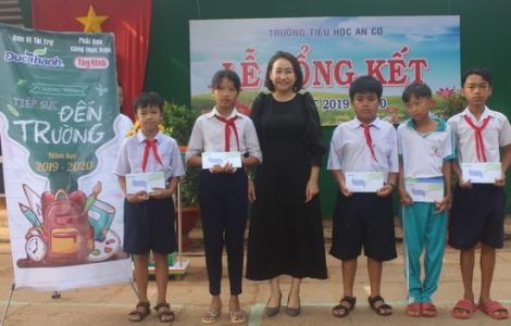 Công ty TNHH Đức Thành: Trao học bổng Tiếp sức đến trường cho học sinh huyện Châu Thành