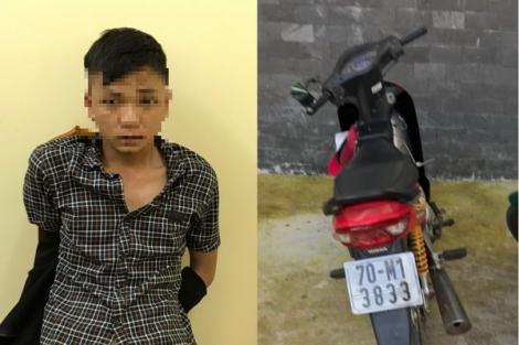 Cảnh sát giao thông bắt giữ đối tượng trộm xe mô tô