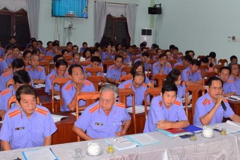 Ngành Kiểm sát Tây Ninh sơ kết hoạt động 6 tháng đầu năm 2020