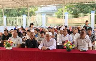 UB.MTTQ Việt Nam tỉnh: Tuyên truyền bảo vệ môi trường, ứng phó với biến đổi khí hậu trong đồng bào dân tộc Chăm