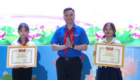 """Tây Ninh: 151 đội viên tiêu biểu được khen tặng danh hiệu """"Cháu ngoan Bác Hồ"""""""