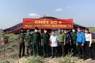 Châu Thành: Sơ kết nhiệm vụ quân sự quốc phòng 6 tháng đầu năm 2020