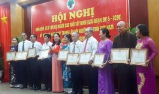 Hội Người cao tuổi tỉnh hội nghị điển hình tiên tiến giai đoạn 2015-2020
