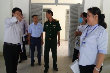 Kiểm tra cơ sở vật chất chuẩn bị đón 559 du học sinh Campuchia cách ly tại Thành phố Tây Ninh