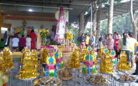 Miếu Bà ở Phước Tân