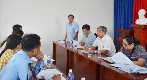 HĐND huyện Tân Châu giám sát công tác CCHC trong  lĩnh vực đất đai