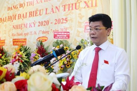 Ông Nguyễn Nam Hưng tái đắc cử Bí thư Thị xã Hoà Thành