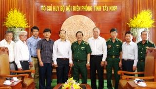 Đại sứ Campuchia thăm Bộ đội biên phòng Tây Ninh
