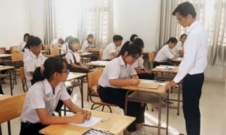 Hơn 4.000 học sinh toàn tỉnh thi tuyển sinh vào lớp 10 năm học 2020 – 2021