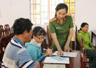 Cấp căn cước công dân lưu động tại xã Phan