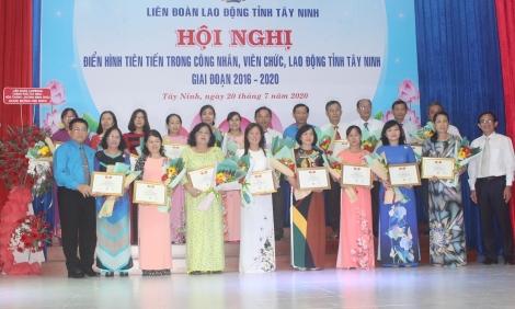 LĐLĐ tỉnh: Tổ chức Hội nghị điển hình tiên tiến công nhân, viên chức, người lao động giai đoạn 2016-2020