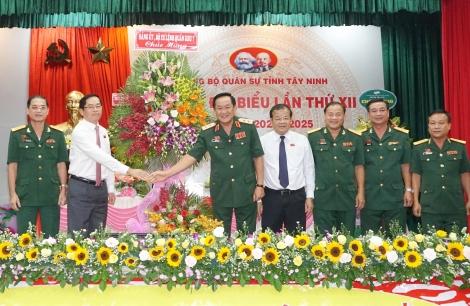 Khai mạc Đại hội đại biểu Đảng bộ Quân sự tỉnh Tây Ninh lần thứ XII, nhiệm kỳ 2020- 2025