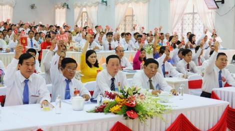 Khai mạc phiên trù bị Đại hội Đại biểu Đảng bộ hai huyện Gò Dầu và Bến Cầu, nhiệm kỳ 2020- 2025