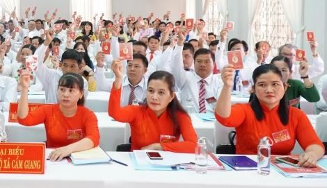 Khai mạc phiên chính thức Đại hội Đảng bộ huyện Gò Dầu lần thứ XIV, nhiệm kỳ 2020-2025