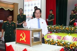 Bế mạc Đại hội đại biểu Đảng bộ Quân sự tỉnh lần thứ XII, nhiệm kỳ 2020-2025